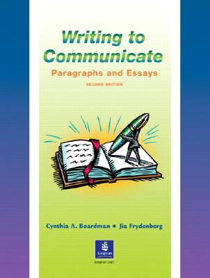 Image for Writing to Communicate Book 2ed : Paragraphs and Essays