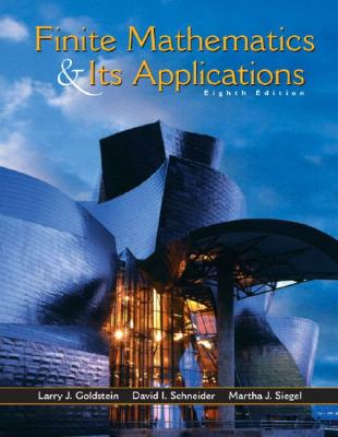 Image for Finite Mathematics and Its Applications