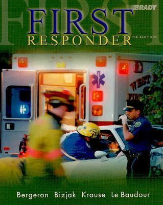 Image for First Responder (7th Edition with CD-ROM) (First Responder (Bergeron))