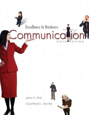 Image for Excellence In Business Communication (6th Edition)