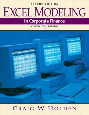 Image for Excel Modeling in Corporate Finance (2nd Edition)