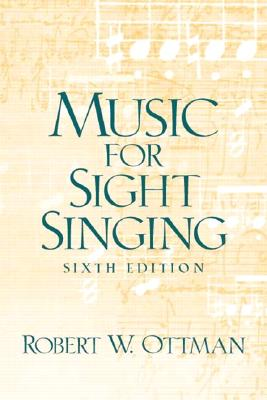Image for Music for Sightsinging, Sixth Edition