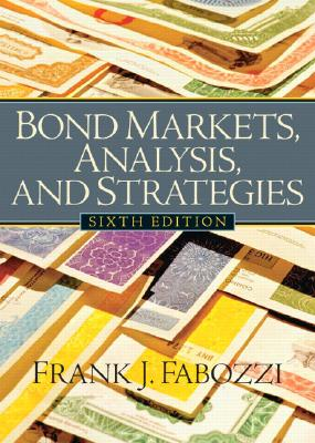 Image for Bond Markets, Analysis and Strategies (6th Edition)