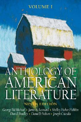Image for Anthology of American Literature, Volume I (Anthology of American Literature)