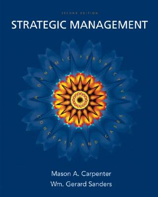 Image for Strategic Management: Concepts And Cases