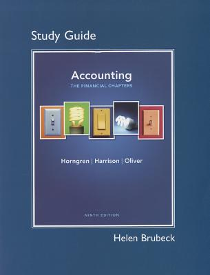 Image for Study Guide for Accounting, Chapters 1-15 (Financial chapters) 9th Edition