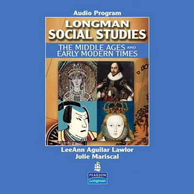 Image for Longman Social Studies: The Middle Ages and Early Modern Times Audio CD [Audiobook] [Audio CD]
