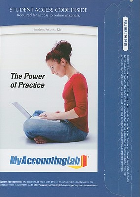 MyAccountingLab with Pearson eText -- Access Card -- for Accounting (MyAccountingLab (Access Codes)) 9th Edition, Charles T. Horngren (Author), M. Suzanne Oliver (Author), Walter T. Harrison (Author)