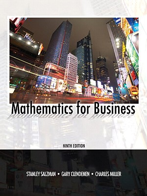 Image for Mathematics for Business (9th Edition)