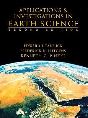 Image for Applications and Investigations in Earth Science