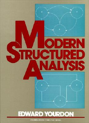 Image for Modern Structured Analysis (Yourdon Press Computing Series)
