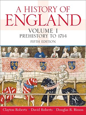 Image for A History of England, Volume 1 (Prehistory to 1714) (5th Edition)