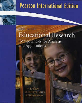 Image for Educational Research: International Version: Competencies for Analysis and Applications