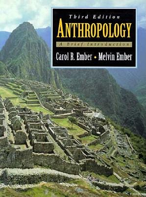 Image for Anthropology: A Brief Introduction