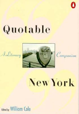 Image for Quotable New York: A Literary Companion