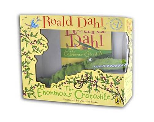 Image for The Enormous Crocodile book and plush toy boxed set