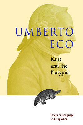 Kant and the platypus, Eco, Umberto