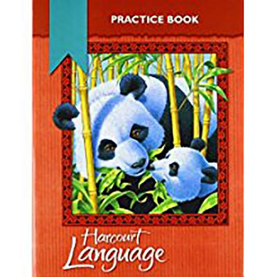 Image for Harcourt School Publishers Language: Practice Workbook Grade 3