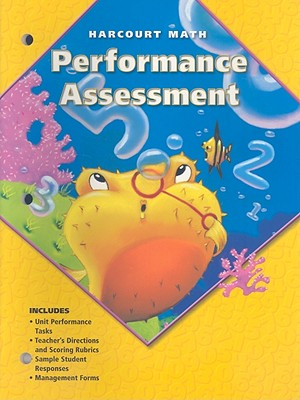 Image for Performance Assessment, Harcourt Math: Grade 2