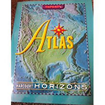Image for Harcourt Horizons: Desk Atlas Grades K-6
