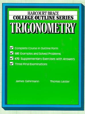 Image for College Outline for Trigonometry (Books for Professionals)