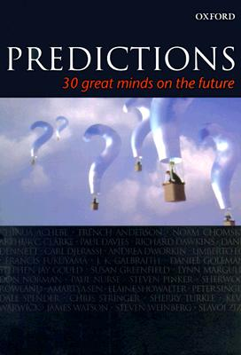 Image for Predictions: Thirty Great Minds on the Future (Popular Science)