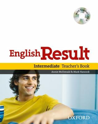 Image for English Result Intermediate: Teacher's Book with DVD Pack
