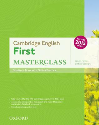 Image for Cambridge English: First Masterclass: Student's Book and Online Practice Pack