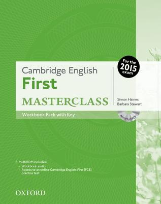 Image for Cambridge English: First Masterclass: Workbook Pack with Key