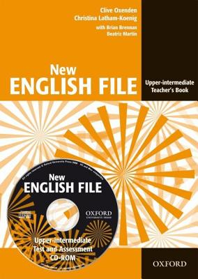 Image for New English File Upper-Intermediate Teacher's Book with Test and Assessment CD-ROM  Six-level General English Course for Adults
