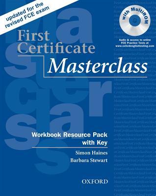 First Certificate Masterclass: Workbook Resource Pack with Key, Haines, Simon; Stewart, Barbara