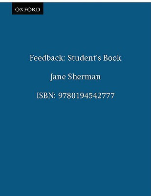 Image for Feedback : Essential Writing Skills for Intermediate Students