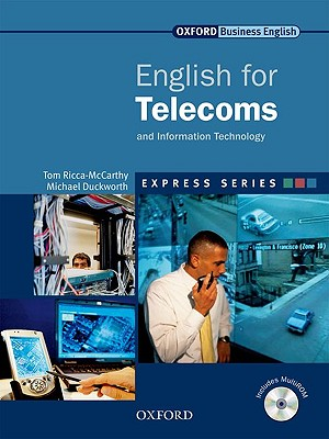 Image for English for Telecoms Student's Book and Multirom Pack  A Short, Specialist English Course
