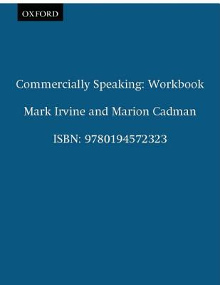 Image for Commercially Speaking: Workbook