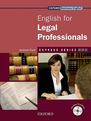Image for English for Legal Professionals Student's Book and MultiROM Pack  A Short, Specialist English Course