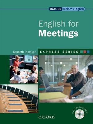 Image for English for Meetings Student's Book and Multirom  A Short, Specialist English Course.  A Short, Specialist English Course
