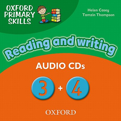 Image for Oxford Primary Skills Reading and Writing 3 & 4 Class Audio CD