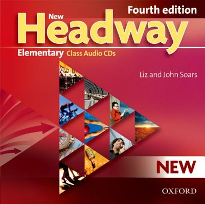 Image for New Headway Elementary 4th Edition Class Audio CD  General English for Adults