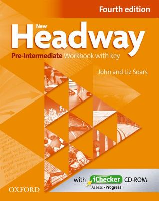 Image for New Headway: Pre-Intermediate A2 - B1: Workbook + iChecker with Key  The world's most trusted English course