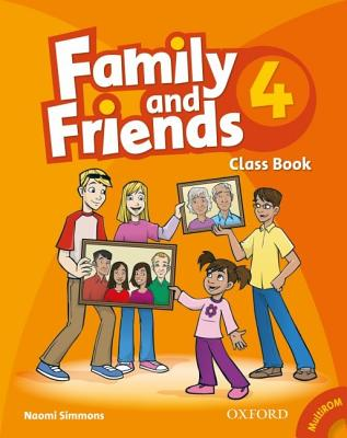 Image for Family and Friends 4: Classbook and Multi-ROM Pack