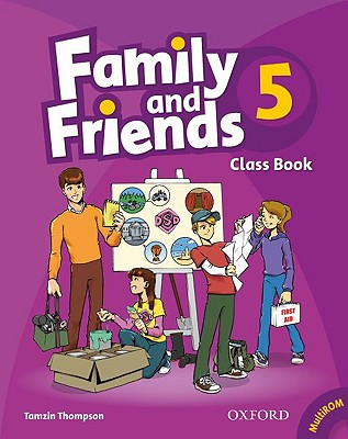 Family and Friends 5: Classbook and Multi-ROM Pack, Thompson, Tamzin