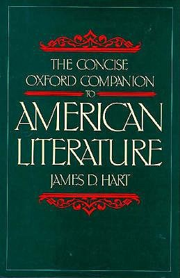 Image for The Concise Oxford Companion to American Literature