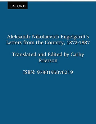 Image for Aleksandr Nikolaevich Engelgardt's Letters from the Country, 1872-1887