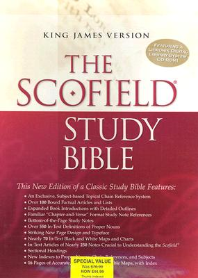 Image for The ScofieldRG Study Bible III, KJV