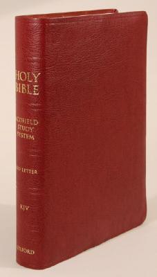Image for KJV SCOFIELD STUDY BIBLE III BURG IDX