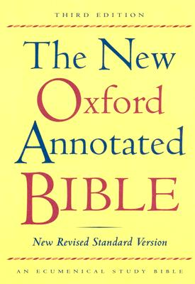 Image for The New Oxford Annotated Bible, New Revised Standard Version, Third Edition