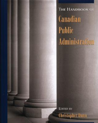 Image for A Handbook of Canadian Public Administration