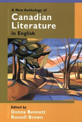 Image for A New Anthology of Canadian Literature in English
