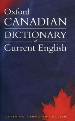 Image for Oxford Canadian Dictionary Of Current English