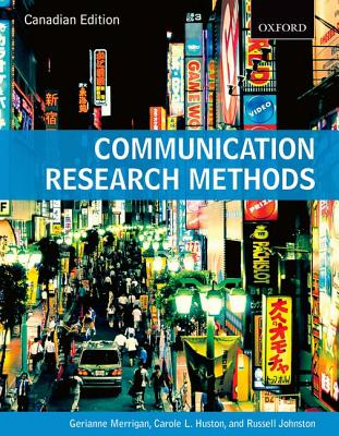 Image for Communication Research Methods Canadian Edition